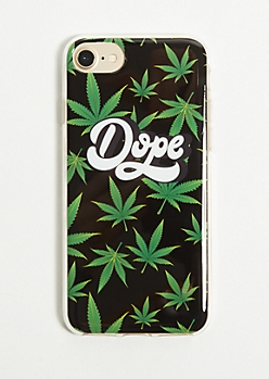 Dope Weed Print Phone Case for iPhone 6/6s/7/8