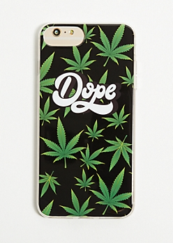 Dope Weed Print Phone Case for iPhone 6/6s/7/8 Plus