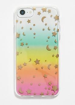 Rainbow Star Moon Phone Case for iPhone 6/6s/7