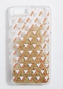 Geo Floating Glitter Case for iPhone 7/6 Plus