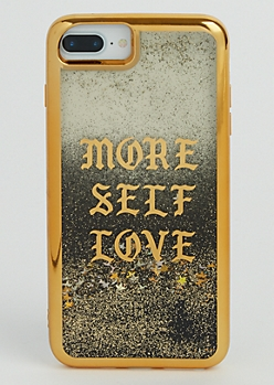 More Self Love Glitter Case for iPhone 7/6 Plus