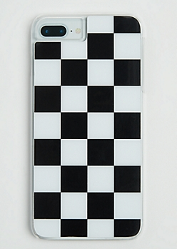 Checkered Case for iPhone 7/6 Plus