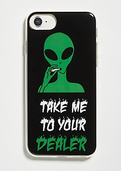 Black Alien Dealer Phone Case For iPhone 6/6s/7/8