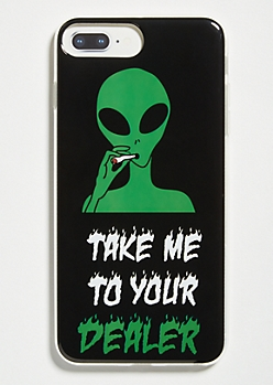 Black Alien Dealer Phone Case For iPhone 6 Plus/7 Plus/8 Plus