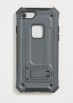 Black Rugged Phone Case for iPhone 7/8