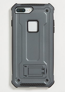 Black Rugged Phone Case for iPhone 7/8 Plus