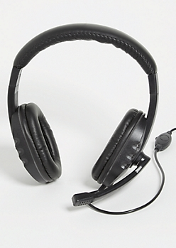 Black Gaming Headset
