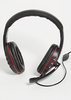 Red Gaming Headset