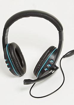 Royal Blue Gaming Headset