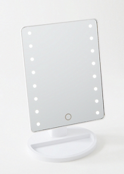 White LED Light Up Mirror