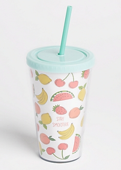 Mint Stay Smoothie Tumbler