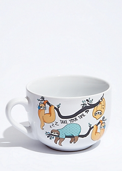 Take Your Time Sleepy Sloth Mug