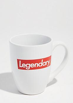 White Legendary Oversized Mug
