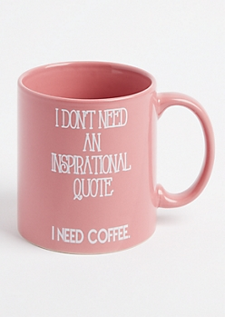 I Need Coffee Oversized Mug