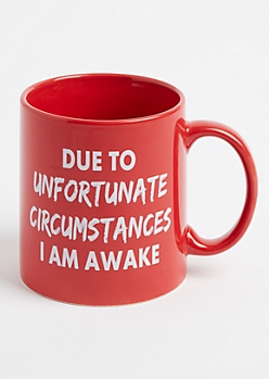 Unfortunate Circumstances Oversized Mug