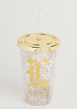 L Glitter Tumbler