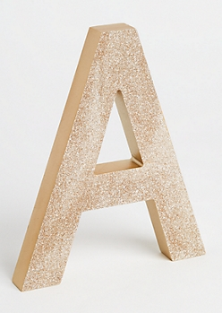 A Gold Glittering Box Sign