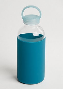 Teal Silicone Sport Bottle