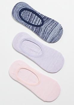 3-Pack Pastel Sneaker Sock Set
