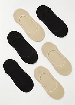 6-Pack Neutral Sock Liner Set