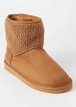 Camel Sherpa Shaft Boots