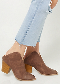 Brown Western Mules