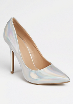 Iridescent Stiletto Heels
