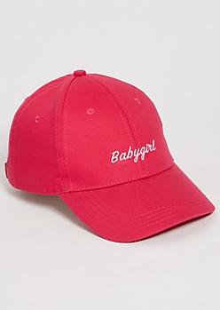 Fuchsia Babygirl Dad Hat