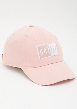 Pink Hustle Dad Hat