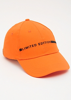 Orange Limited Edition Dad Hat