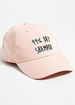 Pink Dry Shampoo Dad Hat