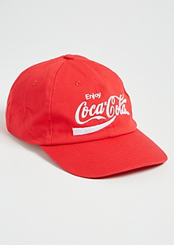 Red Enjoy Coca Cola Dad Hat