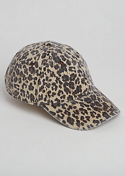 Faded Leopard Dad Hat