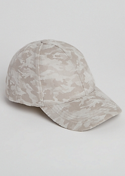 Gray Camo Dad Hat