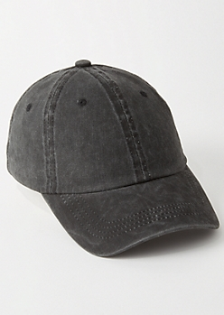 Gray Washed Dad Hat
