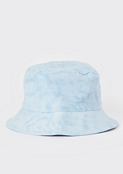 Light Wash Denim Bucket Hat