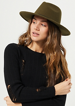 Green Fedora Sun Hat