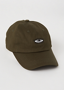Olive Eye Embroidered Dad Hat