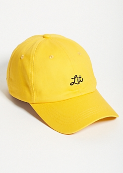 481821e6221 Gold Lit Twill Dad Hat