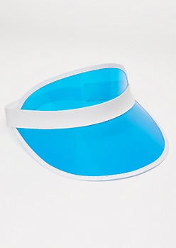 Clear Blue Visor