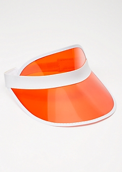 Clear Red Visor