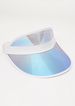 Holographic Blue Visor