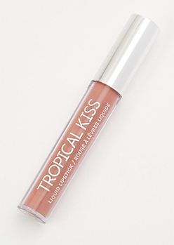 Medium Brown Tropical Kiss Liquid Lipstick