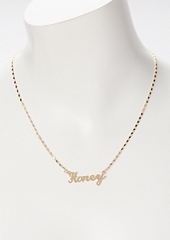 Gold Honey Necklace