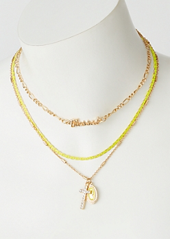 2-Pack Gold Neon Blessed Chain Set