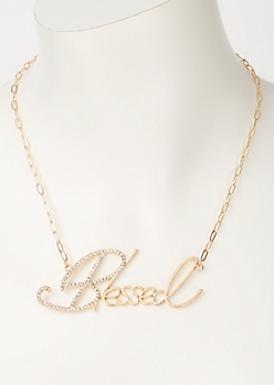 Gold Blessed Chain Necklace
