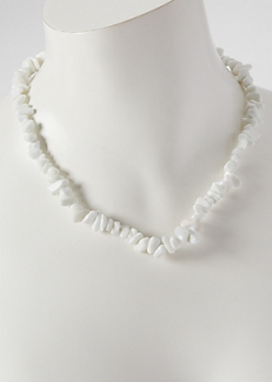 Cowry Shell Bead Necklace