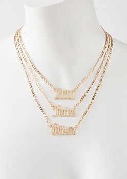 3-Pack Gold Zero Given Chain Set
