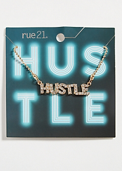 Gold Chain Hustle Necklace