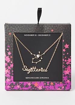 Sagittarius Layered Necklace
